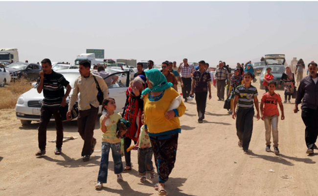 Nearly 80,000 Flee Iraq's Mosul as Fighting Rages: IOM