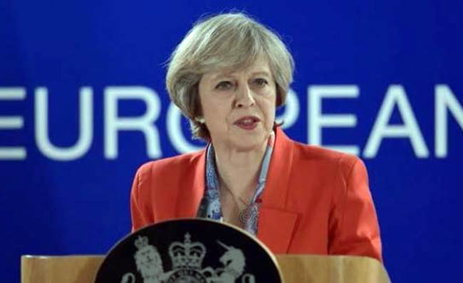 British PM Close to  Spelling out Her Plans for Brexit