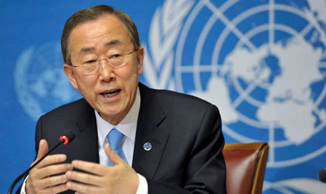 UN Chief Reports No Sense of Optimism  for Middle East Peace Process