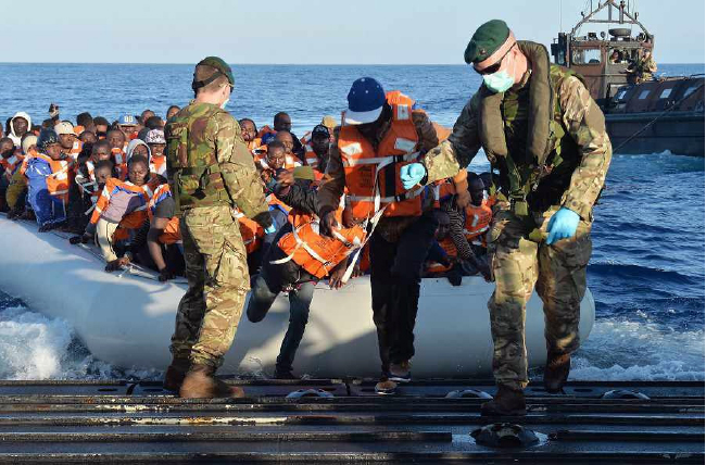 Migrant Sea Arrivals in Europe Top 350,000 Mark: IOM