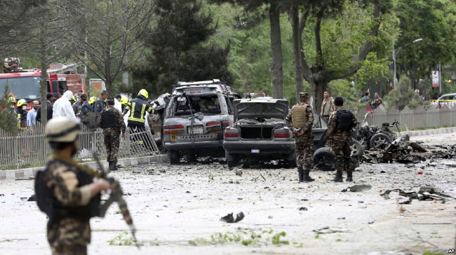 Suicide Attack on NATO Convoy in Kabul, Kills 8