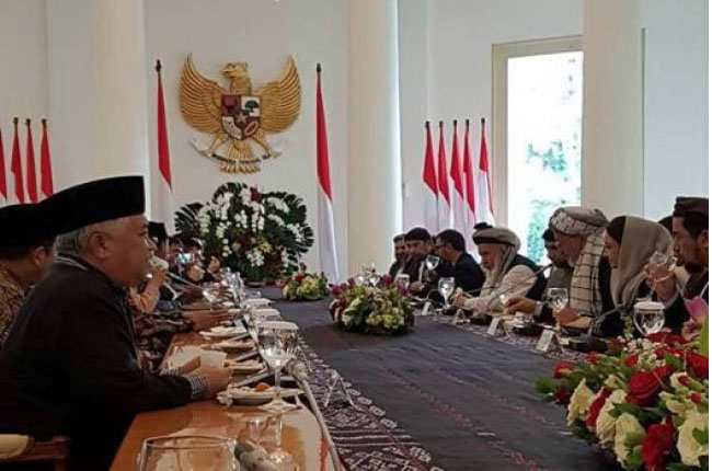 Indonesia Pledges Support to Afghan Reconciliation Process