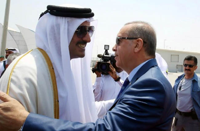 Erdogan Again Visits Qatar for  Cooperation, Regional Issues