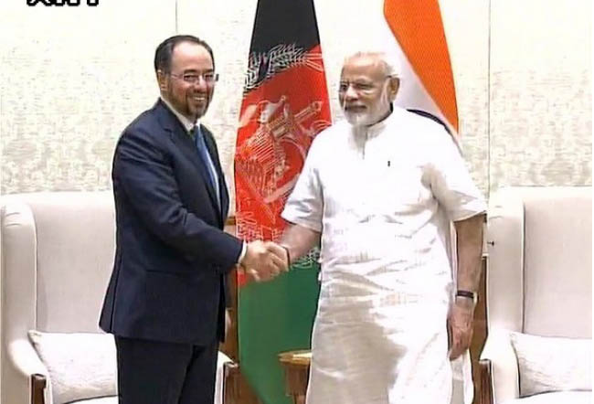 Modi Reiterates India's Strong Support to Afghanistan in Fighting Terrorism