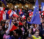Outcome of French First Round Election Sends High Stocks in France, Europe