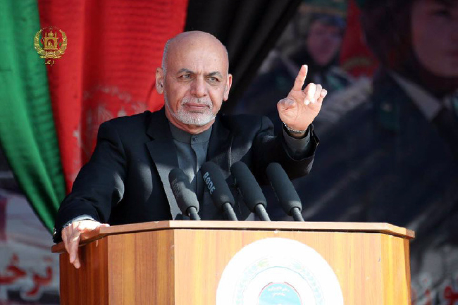 Ghani Vows to Address  Problems Facing Martyrs' Kin