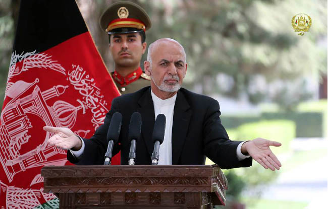 Ghani Rejects Claims He is  Monopolizing Power