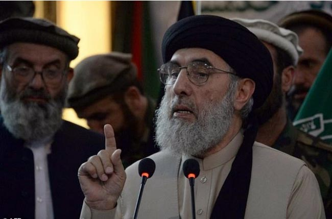 Hekmatyar Says his Party Will Elect Next President