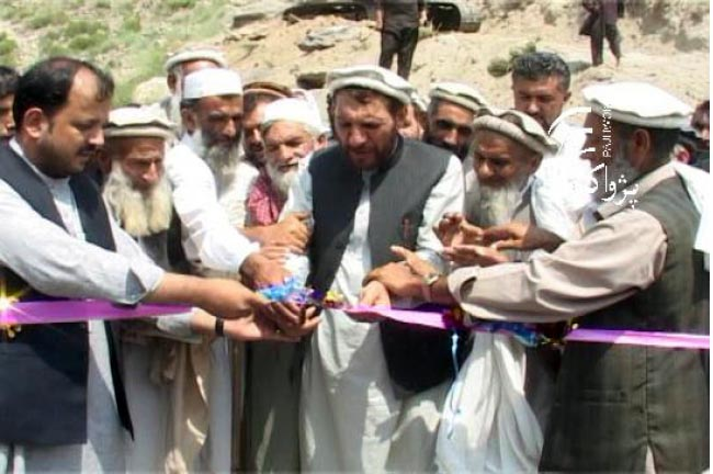 3 Projects worth Nearly  100m Afs Launched in Kunar