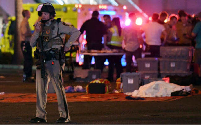 Over 50 Killed, 200 Injured in  Las Vegas Mass Shooting