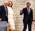 Macron Says Still Trying to Change Trump's Mind on Climate Change