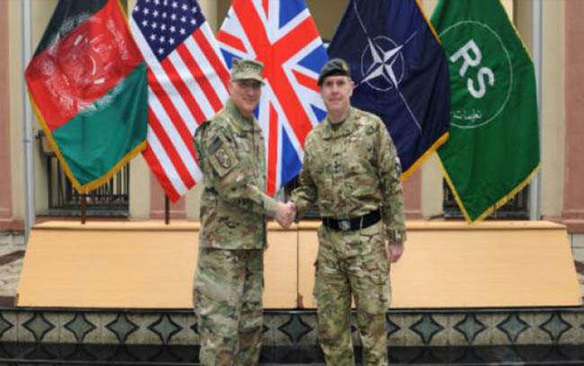 NATO General Hails Progress Made by Afghan Forces