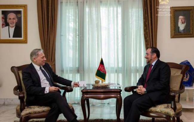 Mellbin, Rabbani Discuss Afghan-EU Cooperation