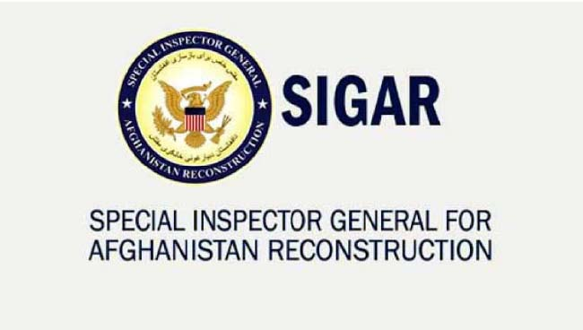 US Spending in Afghanistan  Lacks Monitoring: SIGAR