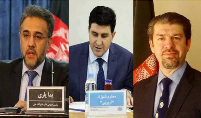3 Cabinet Picks  Introduced to Wolesi Jirga for Trust Votes