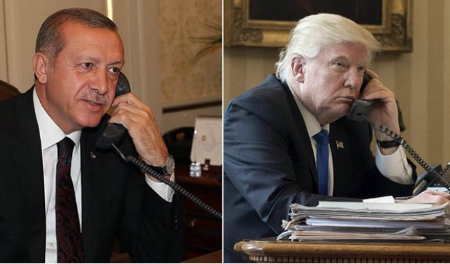 Trump, Erdogan Stress Commitment to Combatting Terrorism