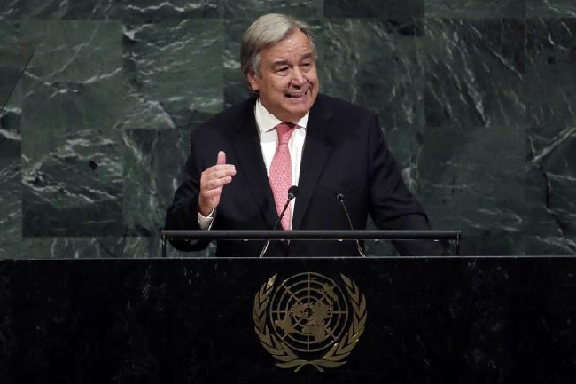 Nuclear Threat at Highest Level Since Cold War: UN Chief