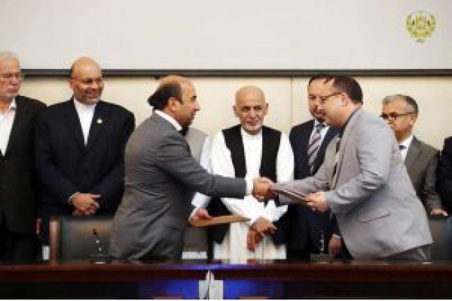 Urban Water Supply Contract  Worth $11.141 Million Signed for Kabul City
