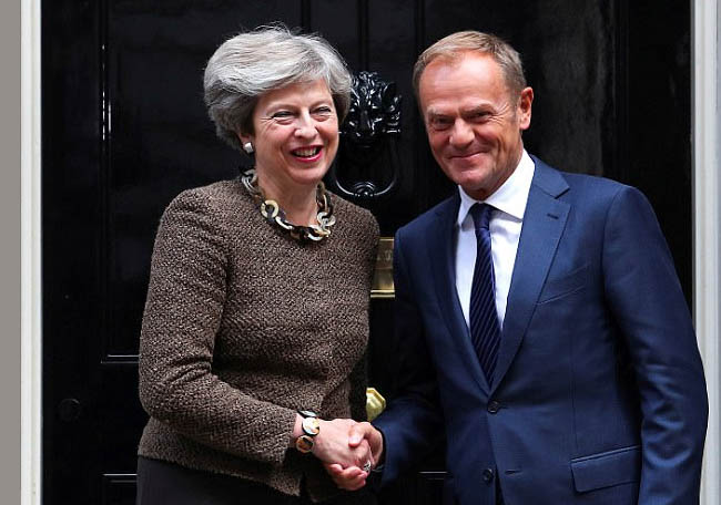 More Work to be Done to Unlock  Brexit Talks: May, Tusk