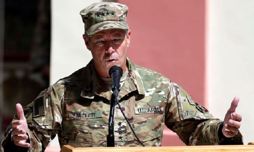 New NATO Commander Vows All-Out Support to Afghan Armed Forces