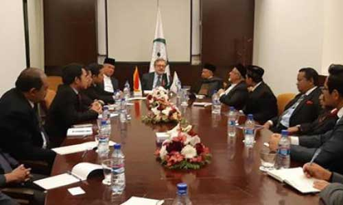 Indonesian Ulema Visit OIC in Kabul