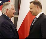 Tillerson, Polish PM Discuss  Security, Energy Issues