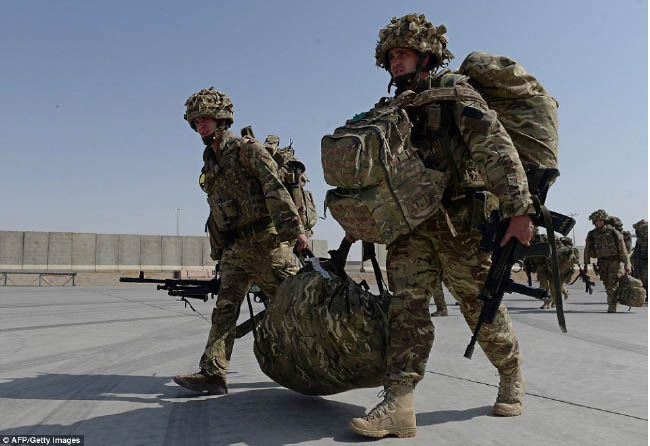 UK Plans to Ramp up Military  Presence in Afghanistan