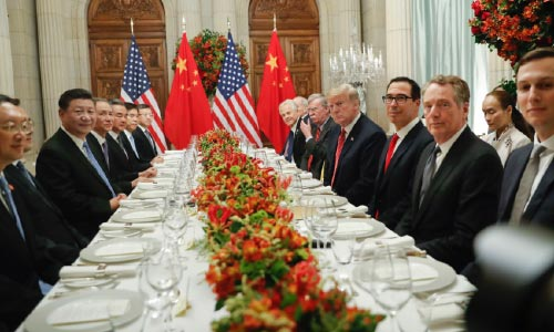 US, China Put Brakes on Their Trade Dispute  with Ceasefire