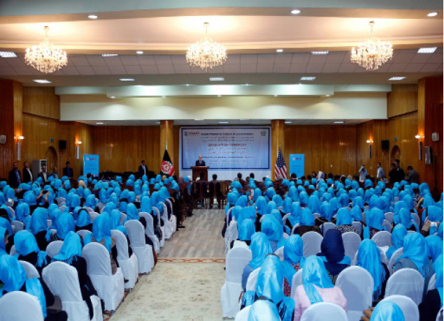 Hundreds of Afghan  Women Set to Join the  Government Workforce