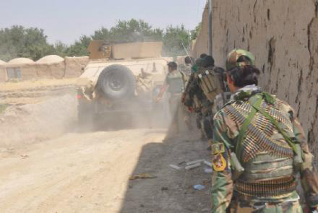Commandos  Involved in 68 Operations  to Combat Taliban Attacks