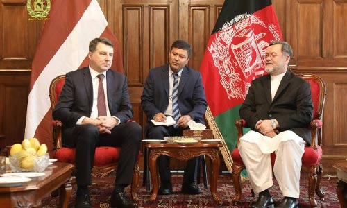 President of Latvia Raimonds Vējonis Pays a Working Visit to Afghanistan