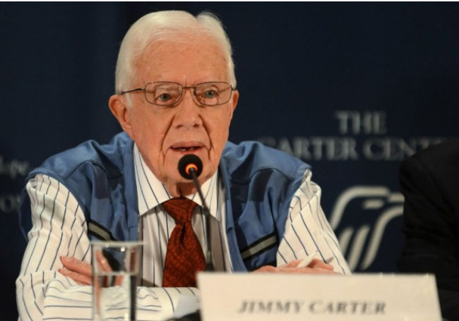 Ex-U.S. President Carter to Attend  Informal UN Meeting on Middle East