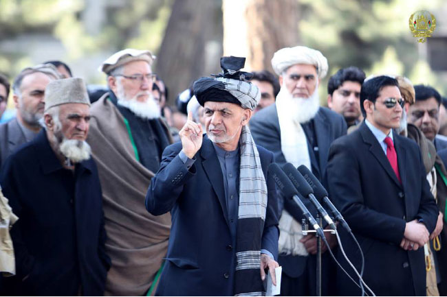 Pakistan is the Center of Taliban, Ghani Tells the Nation