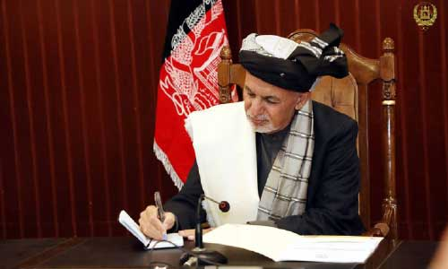 Ghani Renews Call  on Taliban to Join Intra- Afghan Dialogue