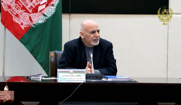 Ghani Assures Peace  will Come to Afghanistan