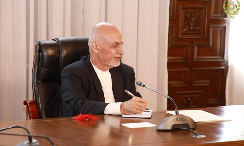 Ghani Wants Youth to Work for Afghanistan's Bright Future