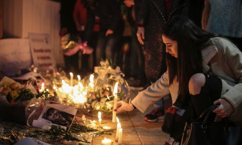 Moroccans Hold Anti-Terror Vigil  for Slain Nordic Hikers