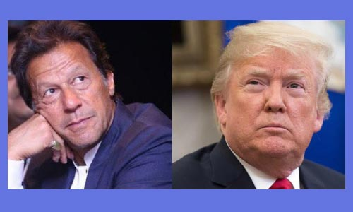 Trump Writes to Pakistan' Khan to Seek Cooperation on Afghan Peace