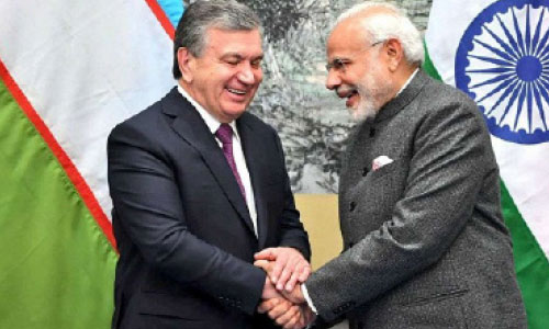 Indian, Uzbek Leaders Vow to Work to Stabilize Afghanistan
