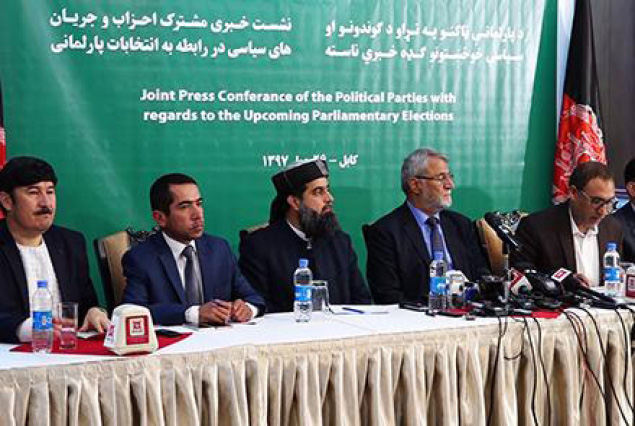 Political Parties Call for Role in Election Process
