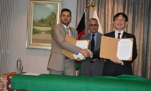 Japan Gives USD 10 Million Towards Better  Agriculture by Improving Irrigation Facilities  and Water Management Techniques