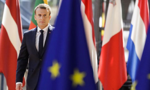 Macron to Renew Plea for Closer Europe