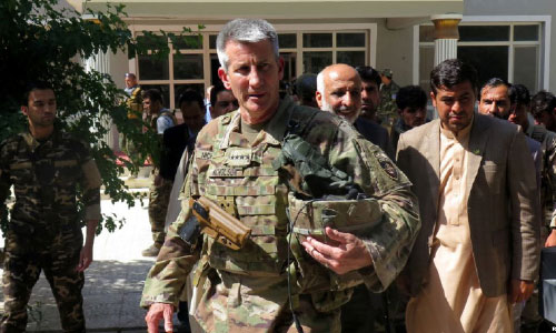 17th US Commander Takes Over America's Longest War