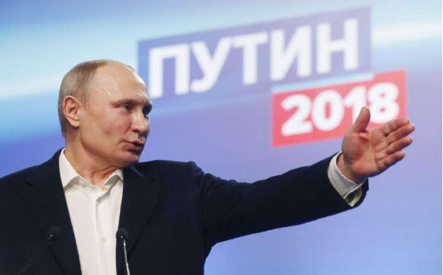 Putin Wins Russian Presidential Election, Likely to be Sworn