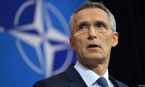 NATO Expects Russia,  Iran to Support Afghan Peace