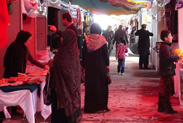 Women Showcase  Products at Nawroz Bazar