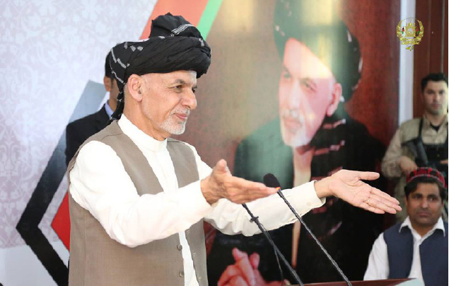 Ghani Promises to Ban Rupee in Public Offices