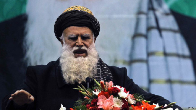 Sayyaf in Saudi Arabia for Talks with Officials