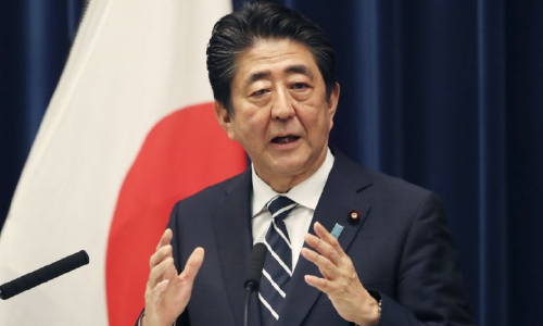 Japan's Abe Wants G-20 to Unite  on Trade, Middle East