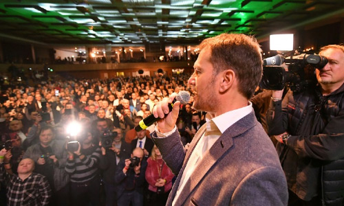 Anti-Graft Party Wins Slovakia Vote  Haunted by Journalist Murder